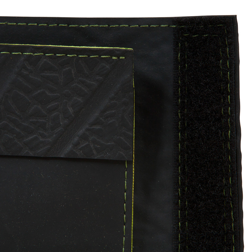 Reiga Velcro Recycled Rubber Vegan Wallet by Paguro Upcycle