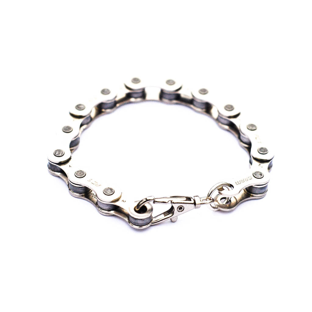 Recycled Bike Chain Bracelet