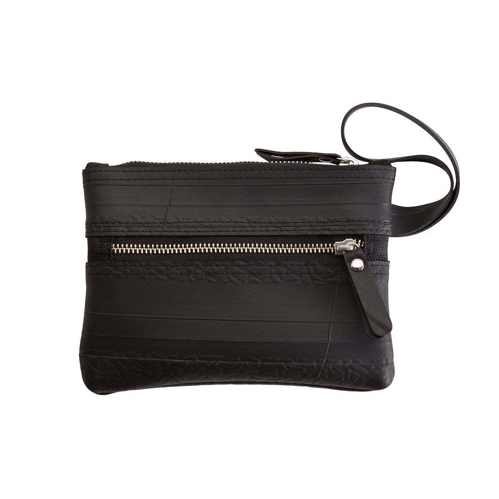 Erin Recycled Rubber Wristlet Vegan Pouch