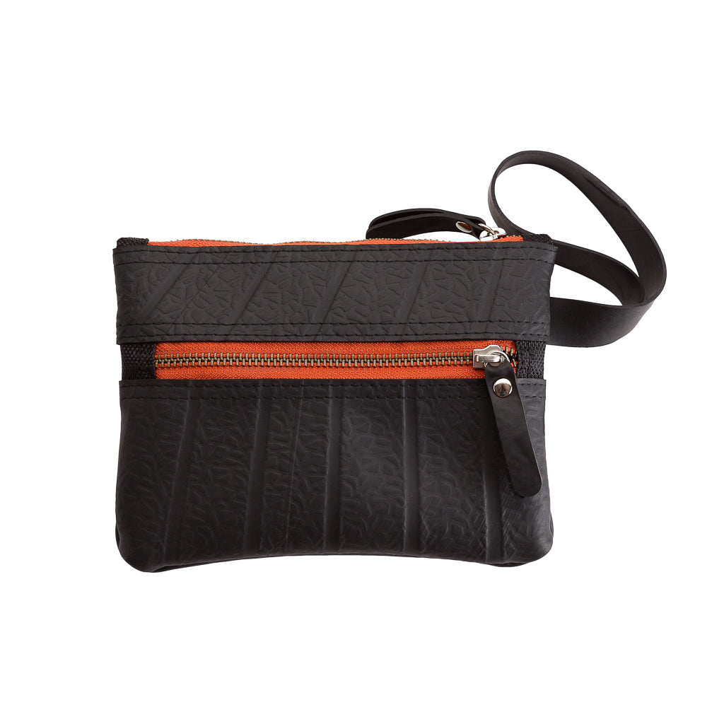 Erin Vegan Wristlet and Belt Pouch by Paguro Upcycle