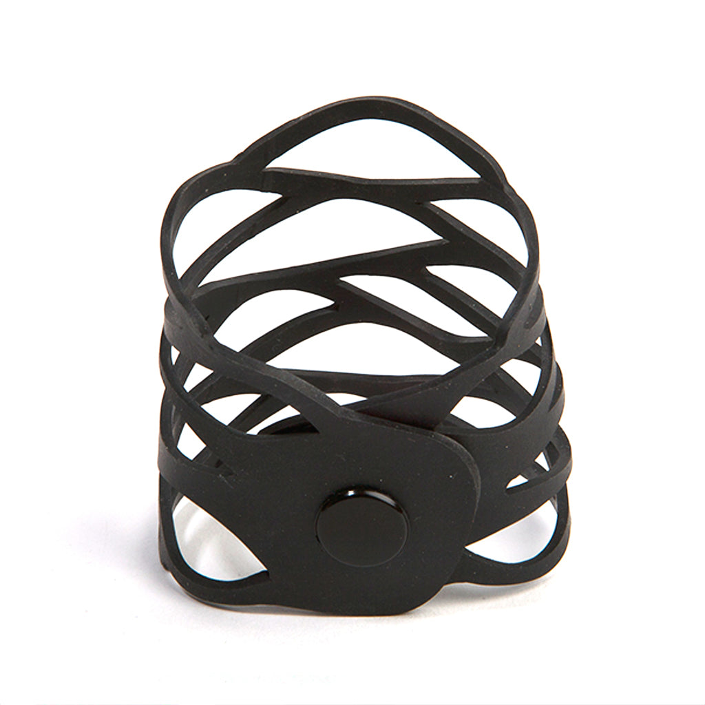 Flame Recycled Rubber Bracelet by Paguro Upcycle