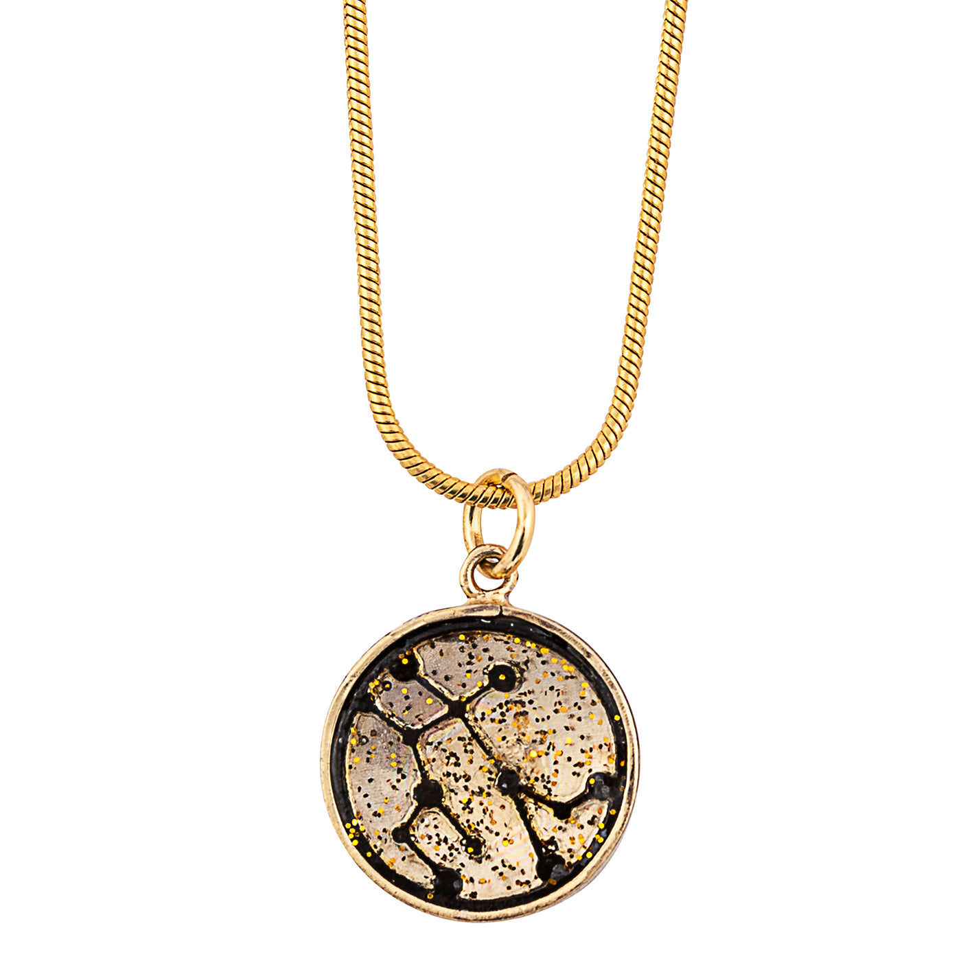 Gemini Zodiac Sign Sustainable Necklace