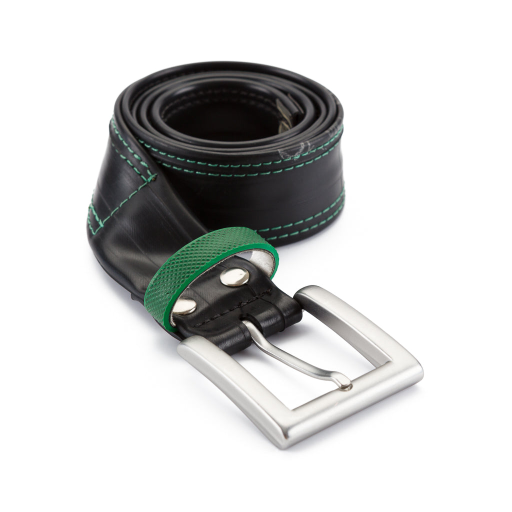 Recycled Bicycle Inner Tube Vegan Belt (4 Colours Available)