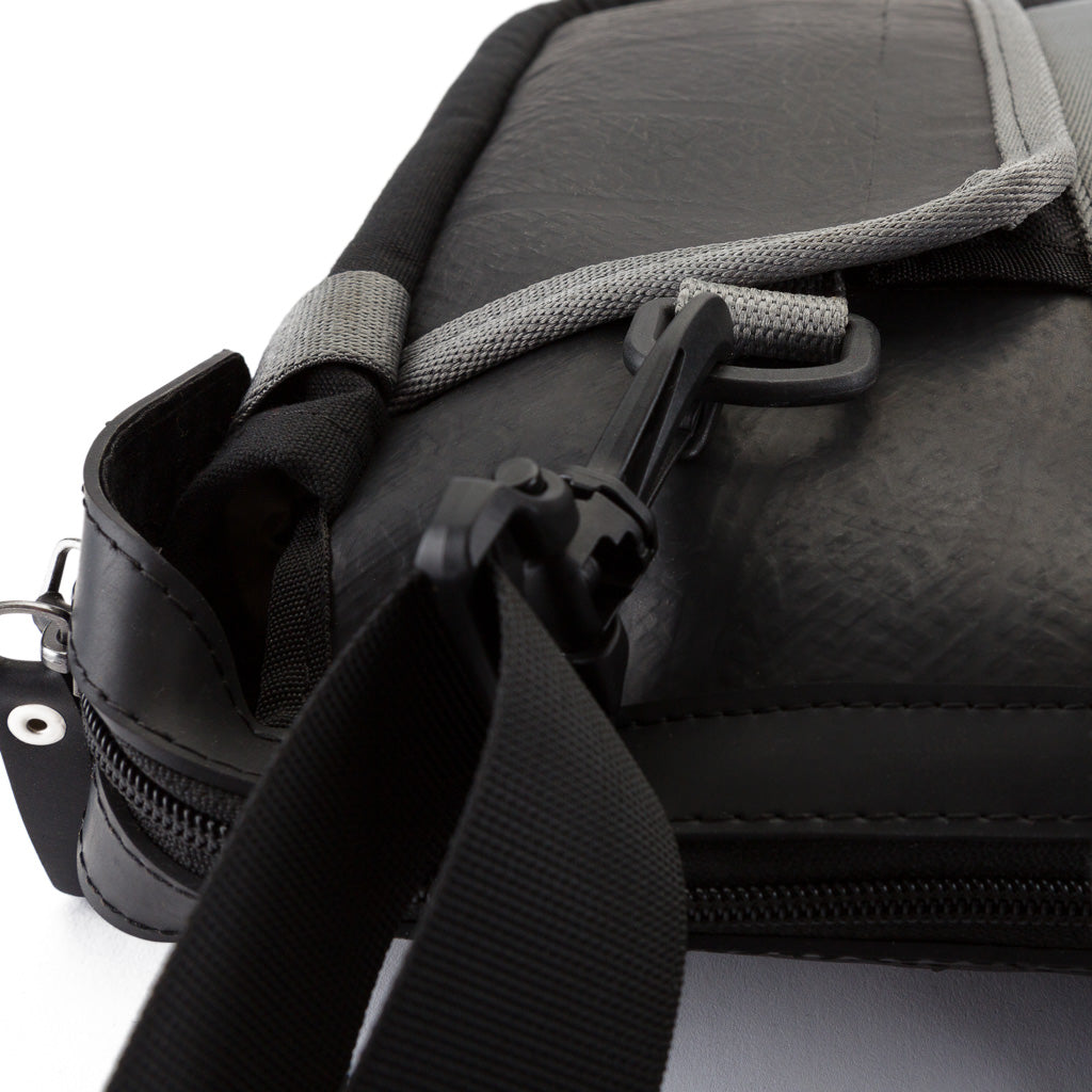 Nebula Recycled Inner Tube Padded Vegan Laptop Bag