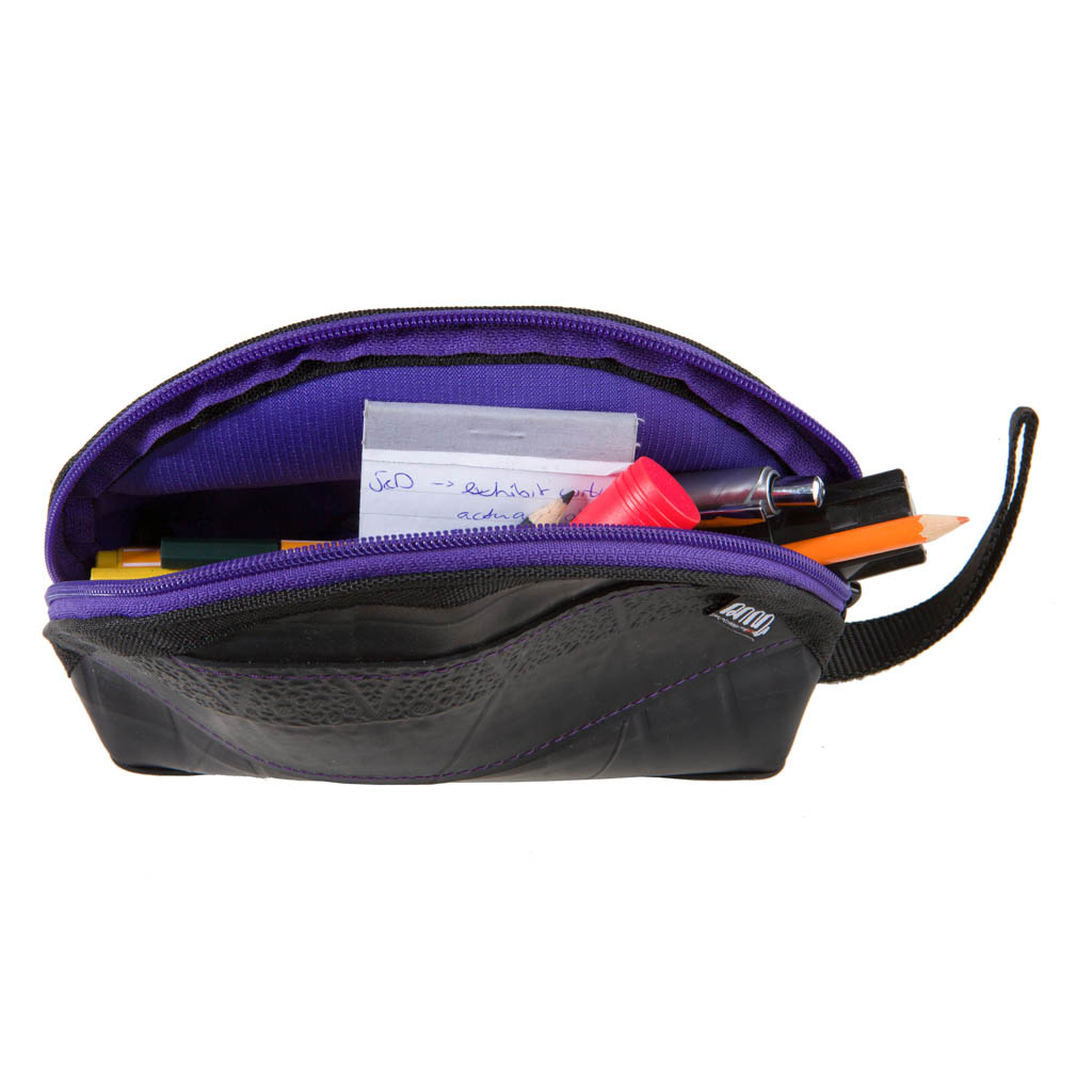 Ness Multipurpose Inner Tube Vegan Travel Pouch (6 colours available) by Paguro Upcycle