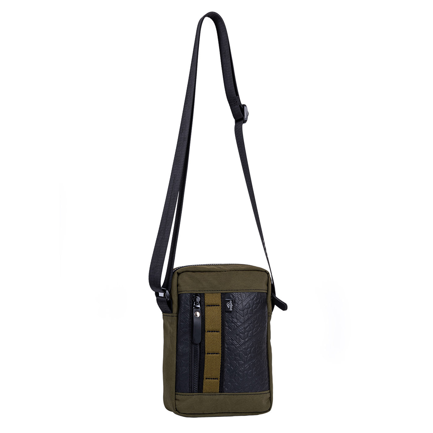 Major Vegan Crossbody Reporter Bag