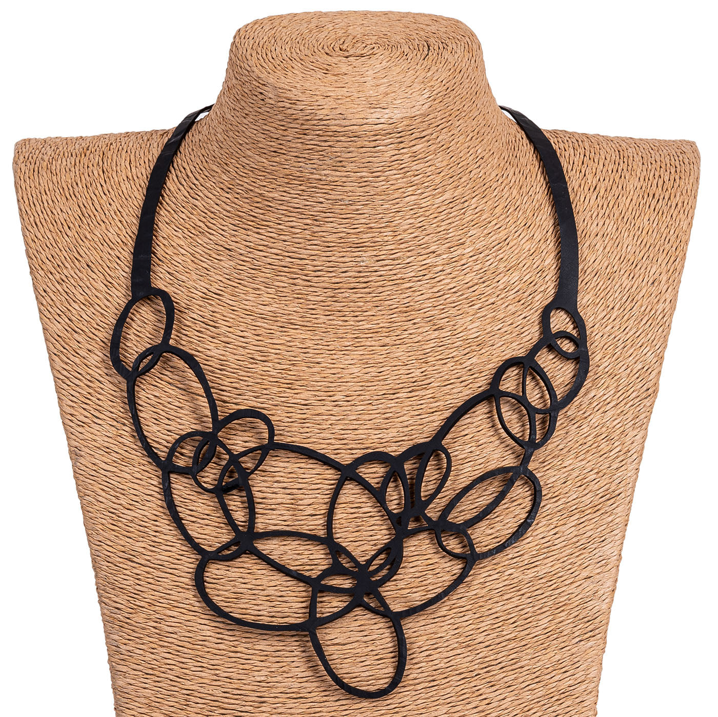 Infinity Upcycled Inner Tube Necklace by Paguro Upcycle