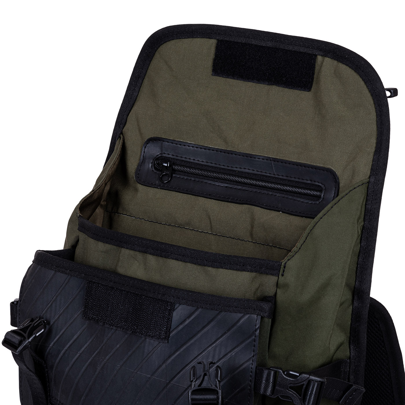 Colonel Vegan Waterproof Backpack with Laptop Compartment by Paguro Upcycle