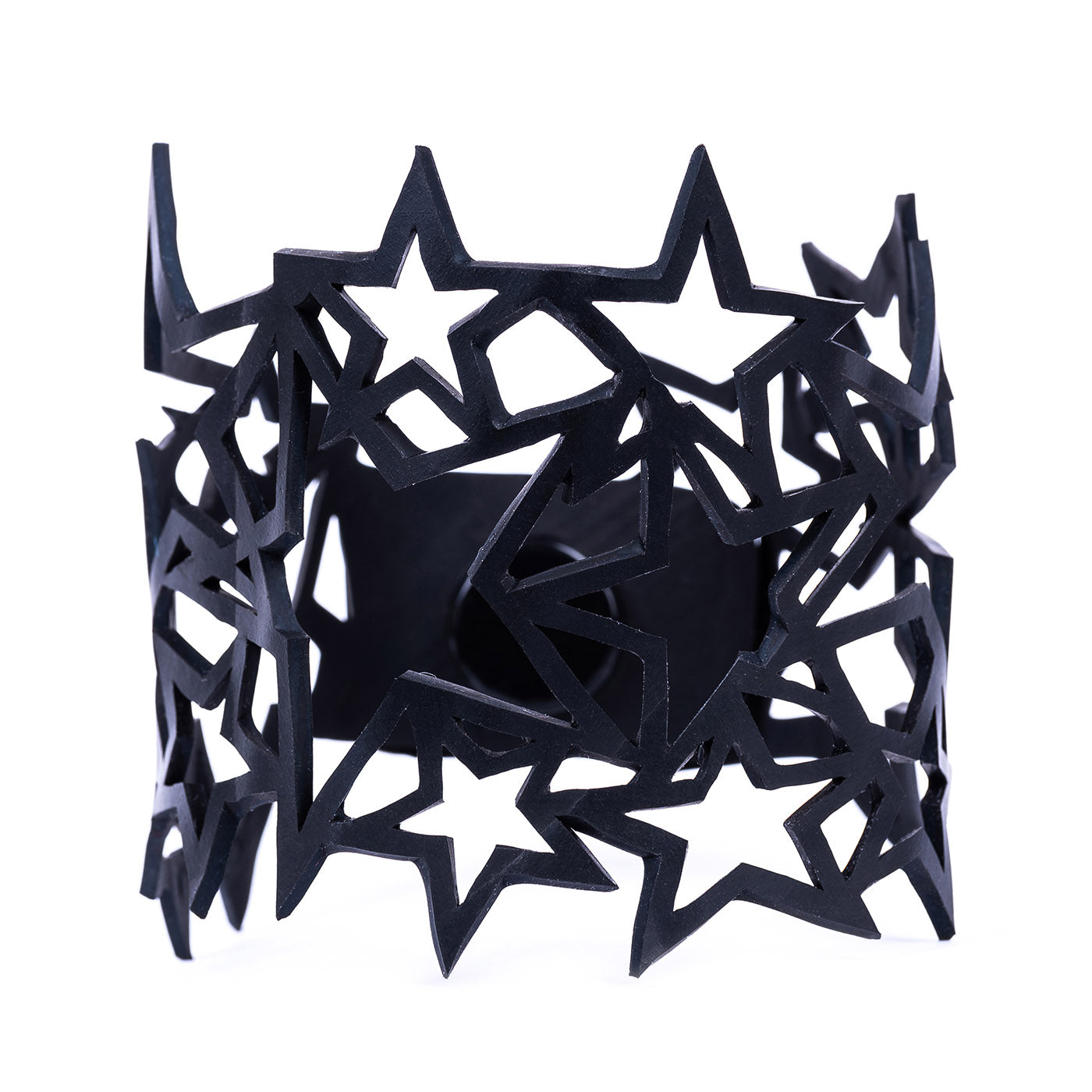 Star Inner Tube Recycled Bracelet by Paguro Upcycle