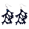 Reef Recycled Rubber Earrings by Paguro Upcycle
