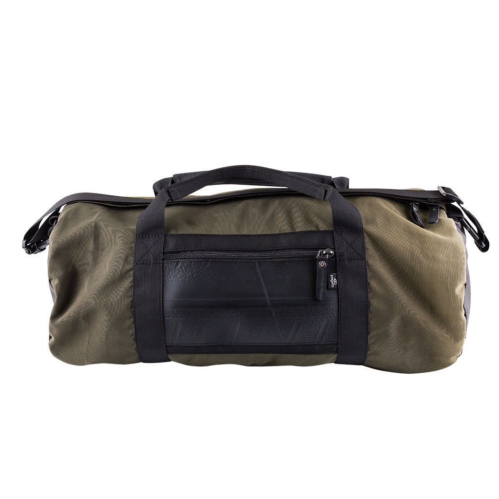 Ranger Water Resistant Duffle Vegan Gym Bag by Paguro Upcycle