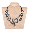 Star Upcycle Inner Tube Necklace