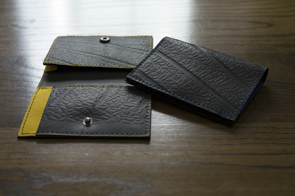 Walter Vegan Slimline Card Holder by Paguro Upcycle