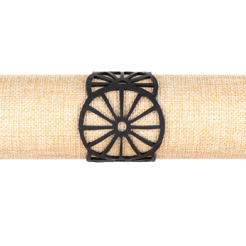 Water Wheel Rubber Bracelet by Paguro Upcycle
