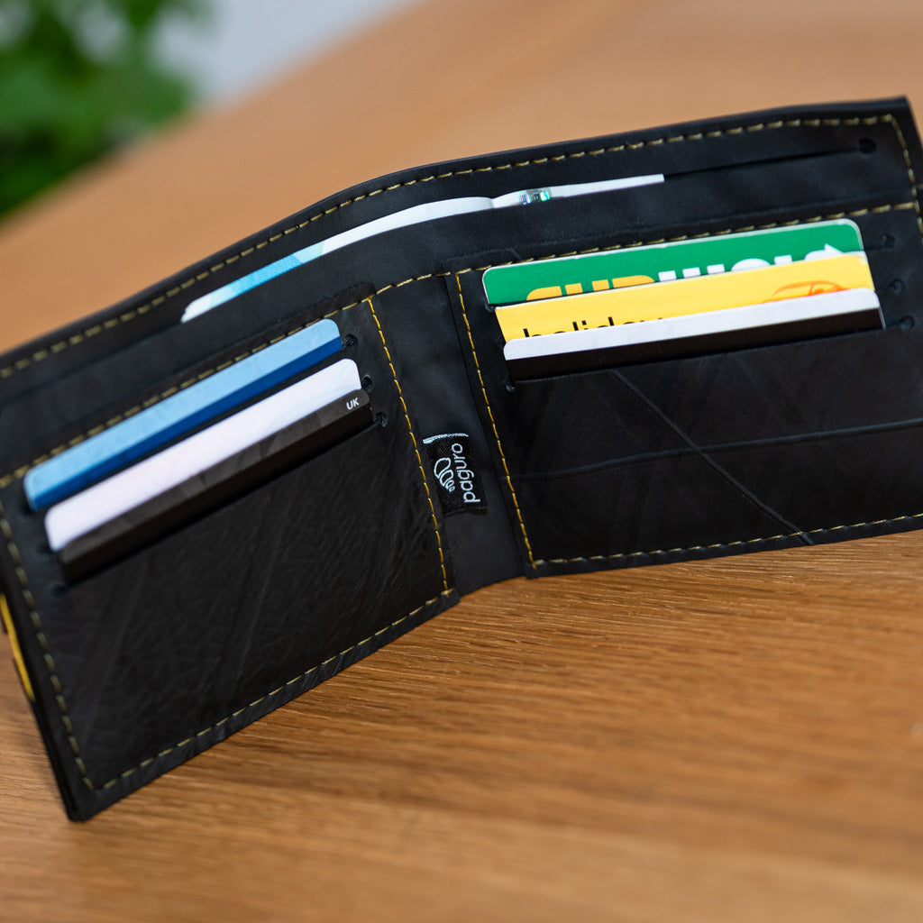 George Inner Tube Vegan Wallet by Paguro Upcycle