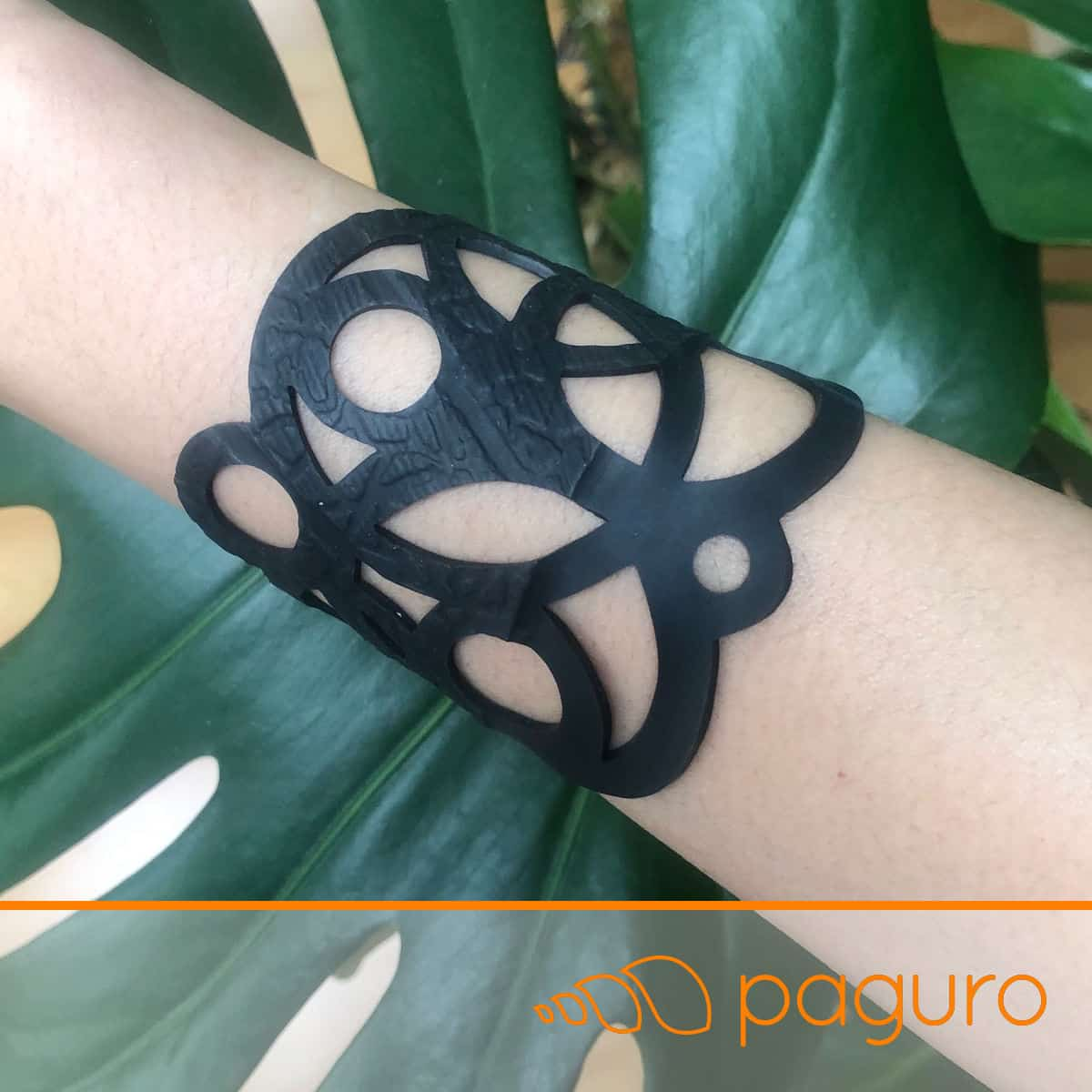 Circular Inner Tube Bracelet by Paguro Upcycle