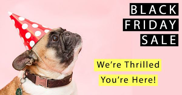 Black Friday Sale at Pet Crafty