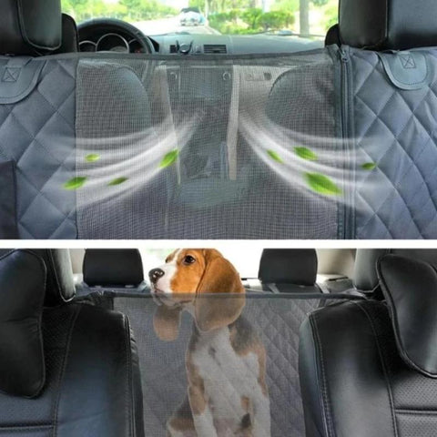 dog backseat cover