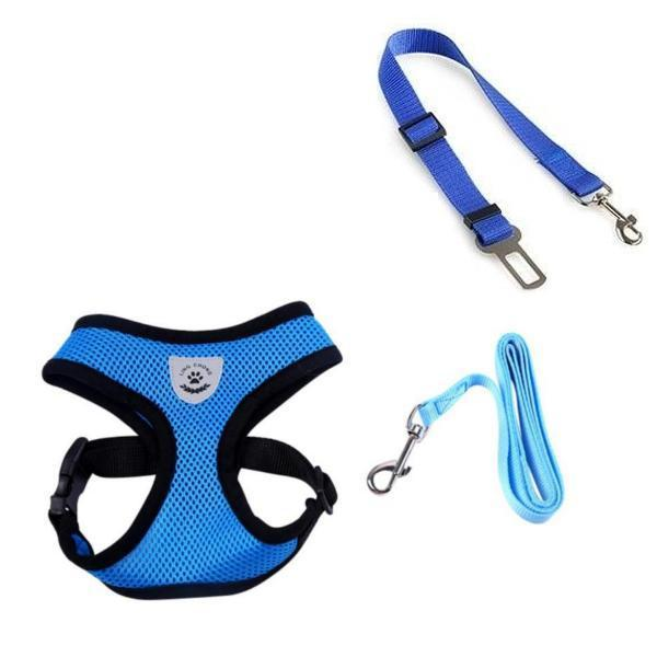 BarkleUp™ Premium Body Harness and Seat Belt