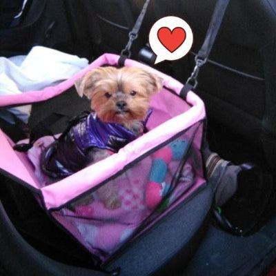 PetCrafty™ Premium Dog Car Seat