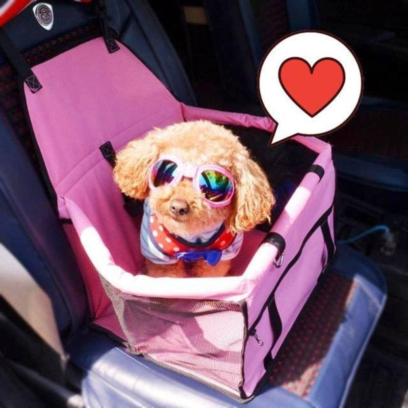 PetCrafty™ Premium Dog Safety Car Seat