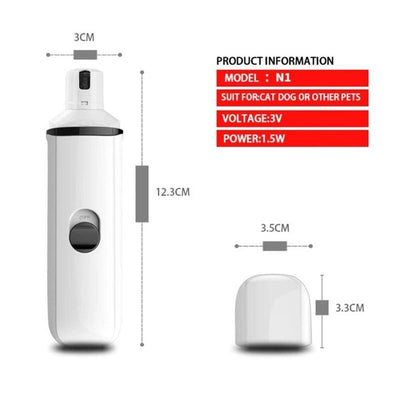 Premium Electric Pet Nail Trimmer