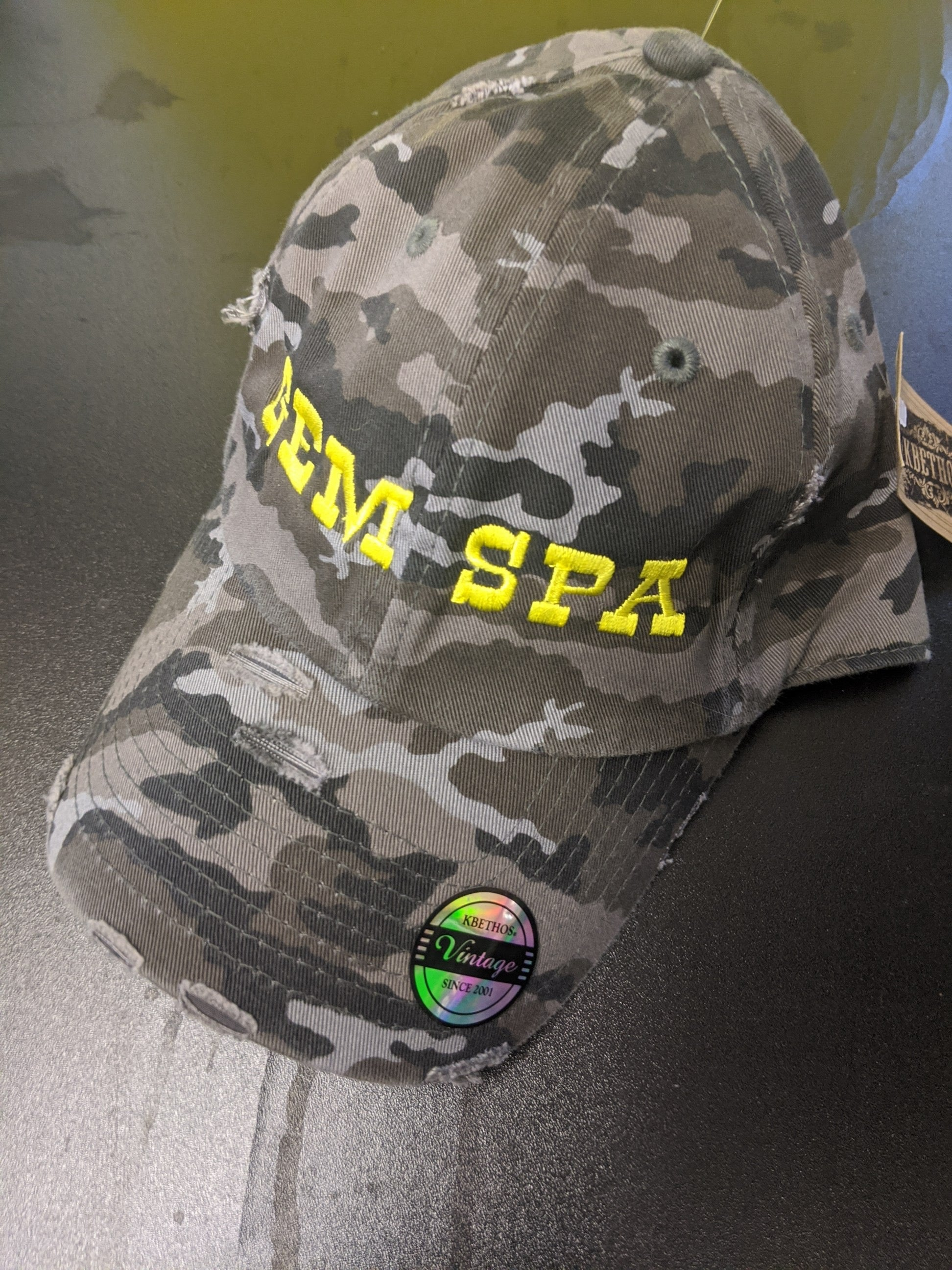 Gem Spa Camo Hat