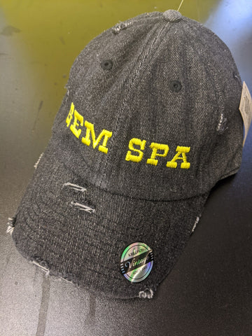 Gem Spa Distressed Denim Hat - Gem Spa NYC