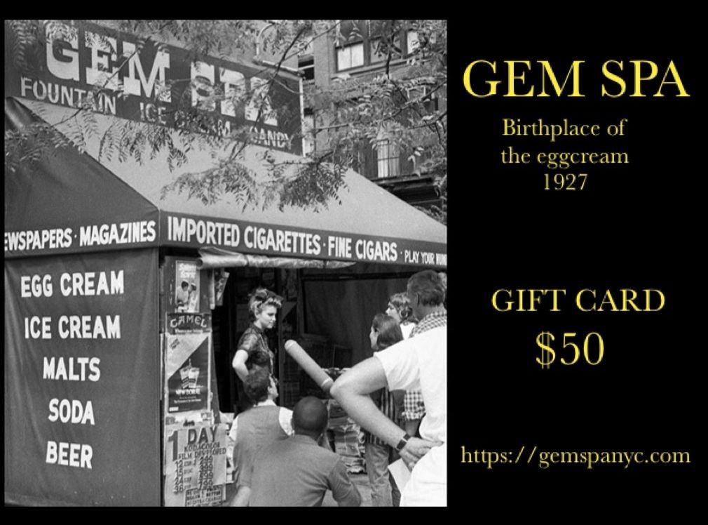 Gem Spa Gift Card- $50