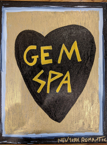 Gem Spa Inspired ORIGINAL ART By New York Romantic - Gem Spa NYC