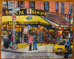 Gem Spa Inspired Painting By PJ Cobbs - Gem Spa NYC