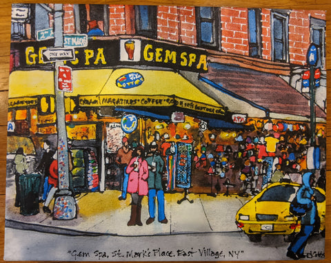 Gem Spa Inspired Painting By PJ Cobbs