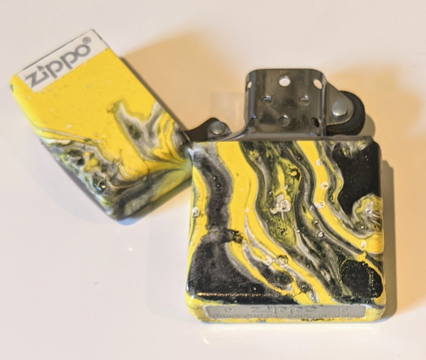 Custom Gem Spa Colored Zippo Lighter (Only 1)