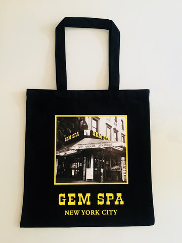 Gem Spa Storefront Canvas Tote Bag