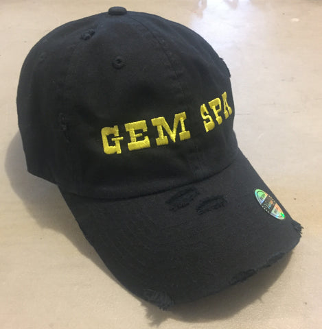 Gem Spa Distressed Black Hat
