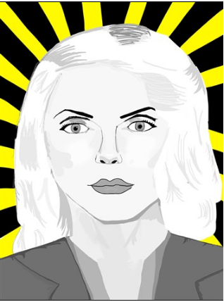 DEBBIE HARRY prints by artist Ramona Boyd