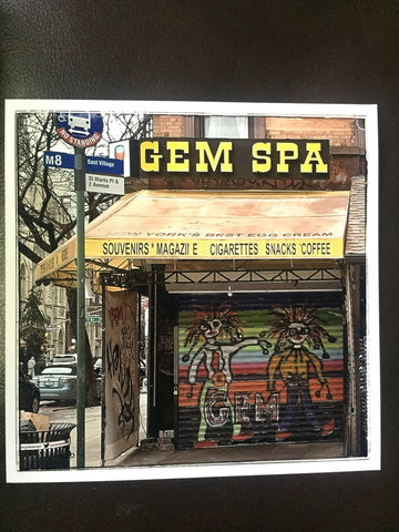 Gem Spa pic by Drew Walker - Gem Spa NYC