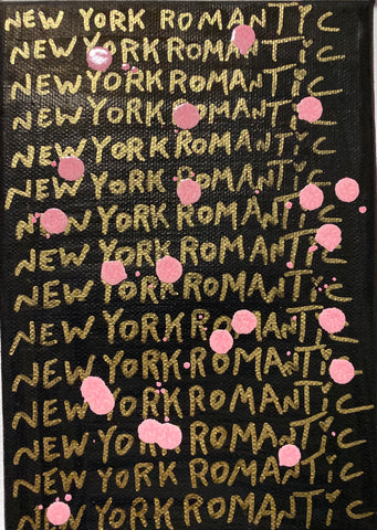 """New York Romantic School of Art"" Oil Paint On Canvas"