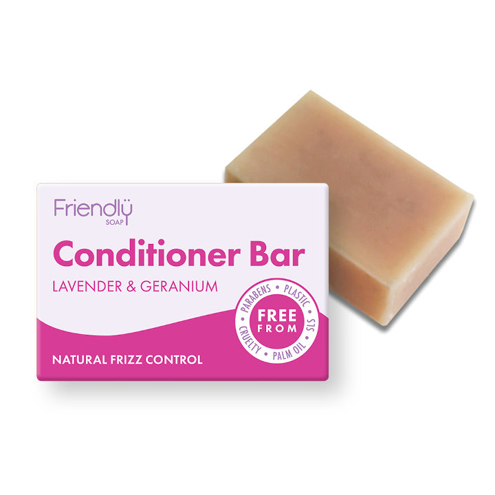 Lavender & Geranium Conditioner Bar - 95g