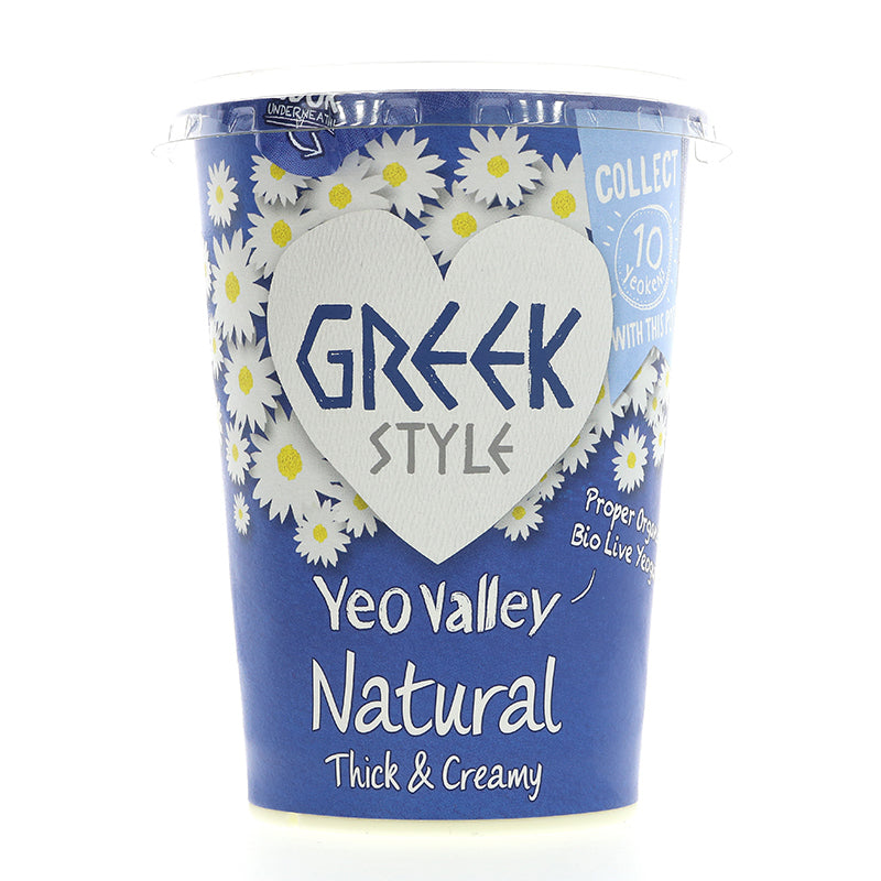 Greek Style Natural Yoghurt - Organic - 450g
