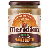 Smooth 100% Peanut Butter - Organic 470g