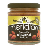 Meridian Organic Smooth Almond Butter -170g