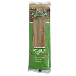 Organic Wholewheat Spaghetti 500g
