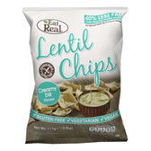 Sour Cream and Chives Hummus Chips - 135g
