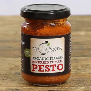 Organic Sun-Dried Tomato Pesto