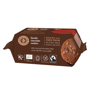 Double Chocolate Cookies - Organic - 180g