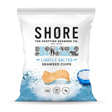 Shore - Lightly Salted Seaweed Chips - 80g