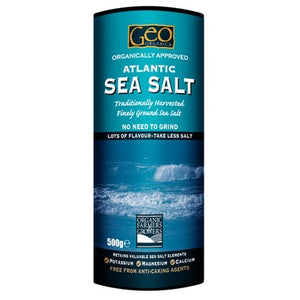 Organic Atlantic Sea Salt 500g