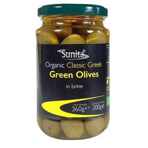 Whole Green Olives 360g