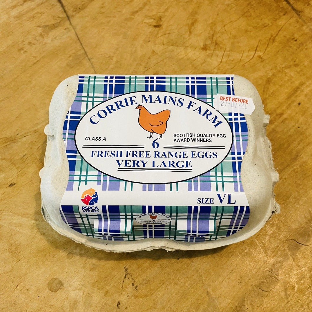 Very Large Free Range Eggs